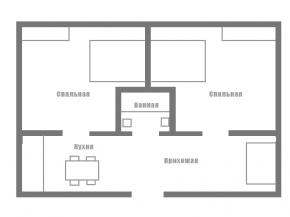 Снять квартиру в Ялте - Квартира в Ялте, ул. Слабодская