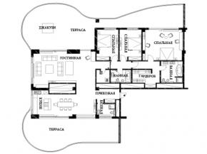 Снять квартиру в Ялте - Пентхаус в Ялте, Приморский парк